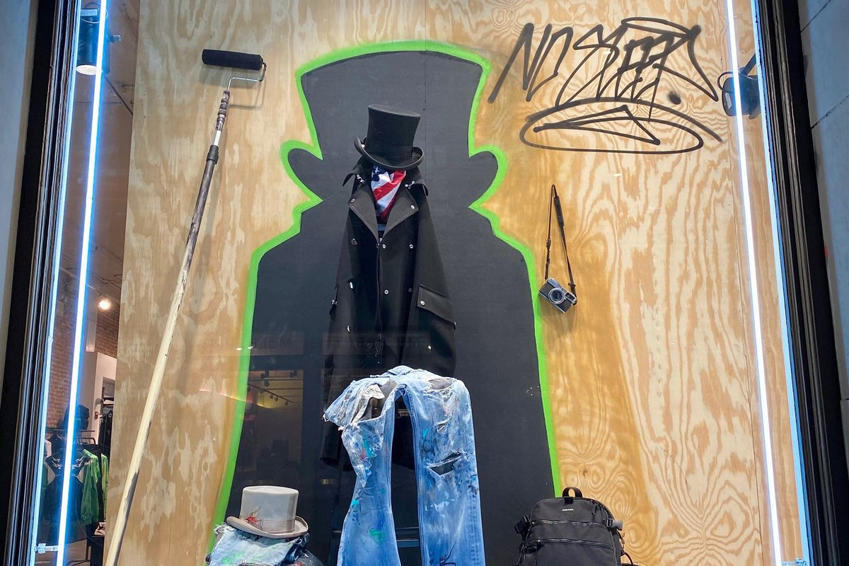 A New York Graffiti Artist Completely Transformed This Diesel Storefront