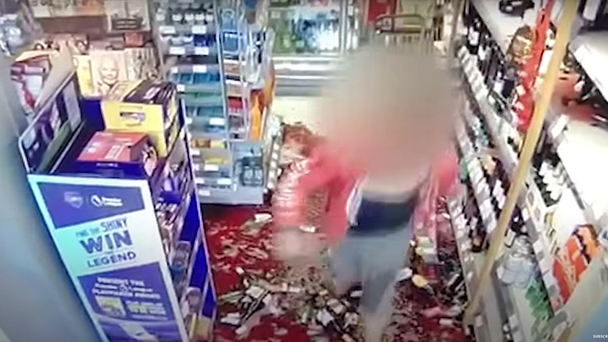 Woman goes berserk, trashes supermarket after employee tells her to follow COVID-19 store regulations