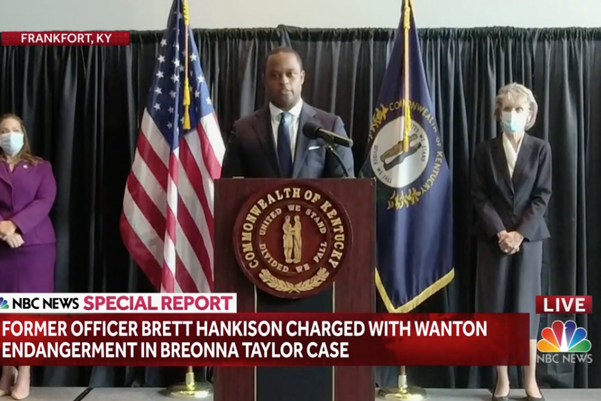 Breaking News: Grand Jury brings charges against former officer in Breonna Taylor case