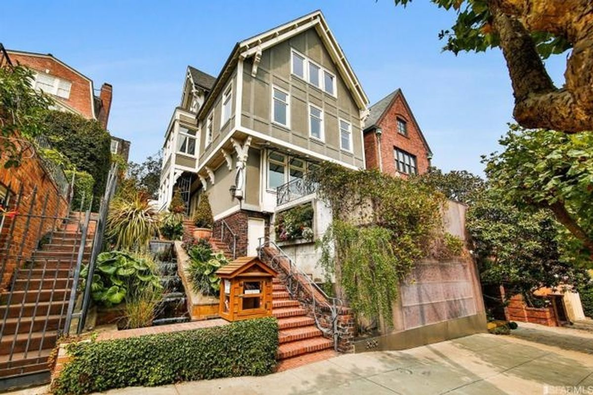 Video House Tour: Posh Sporting and Garden Paradise in Pacific Heights Asks $11 Million