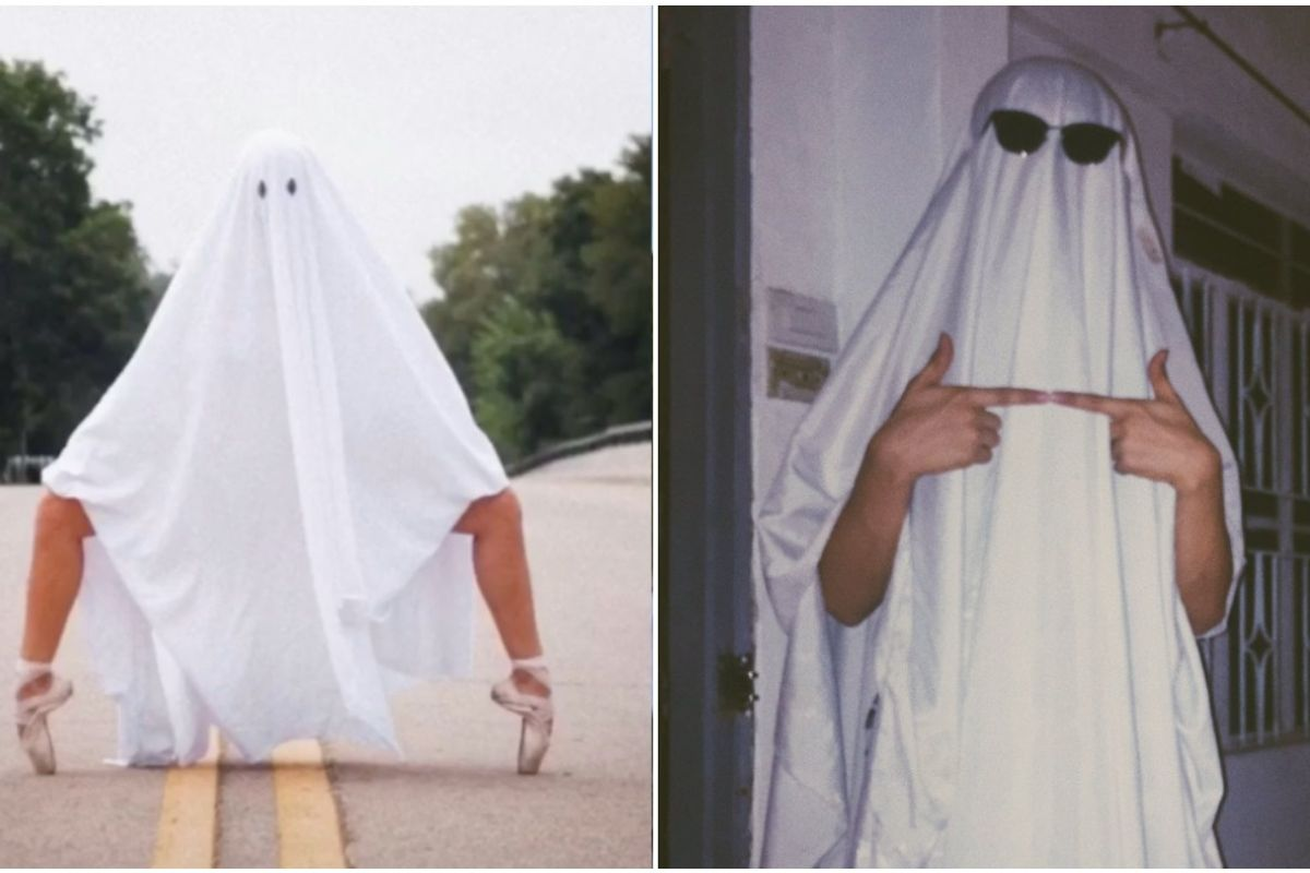 TikTok Ghost Photoshoot Trend Sparks Internet Debate