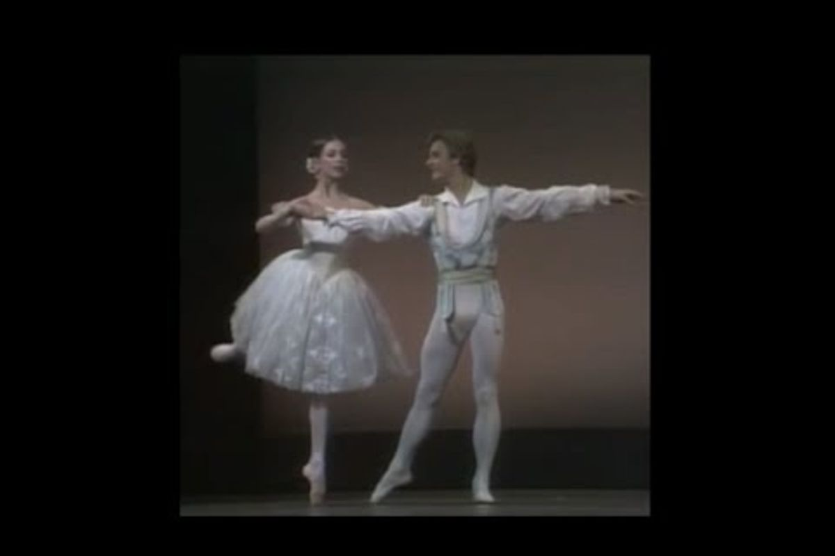 "#TBT: Gelsey Kirkland and Mikhail Baryshnikov in ""Coppélia"" (1976)"