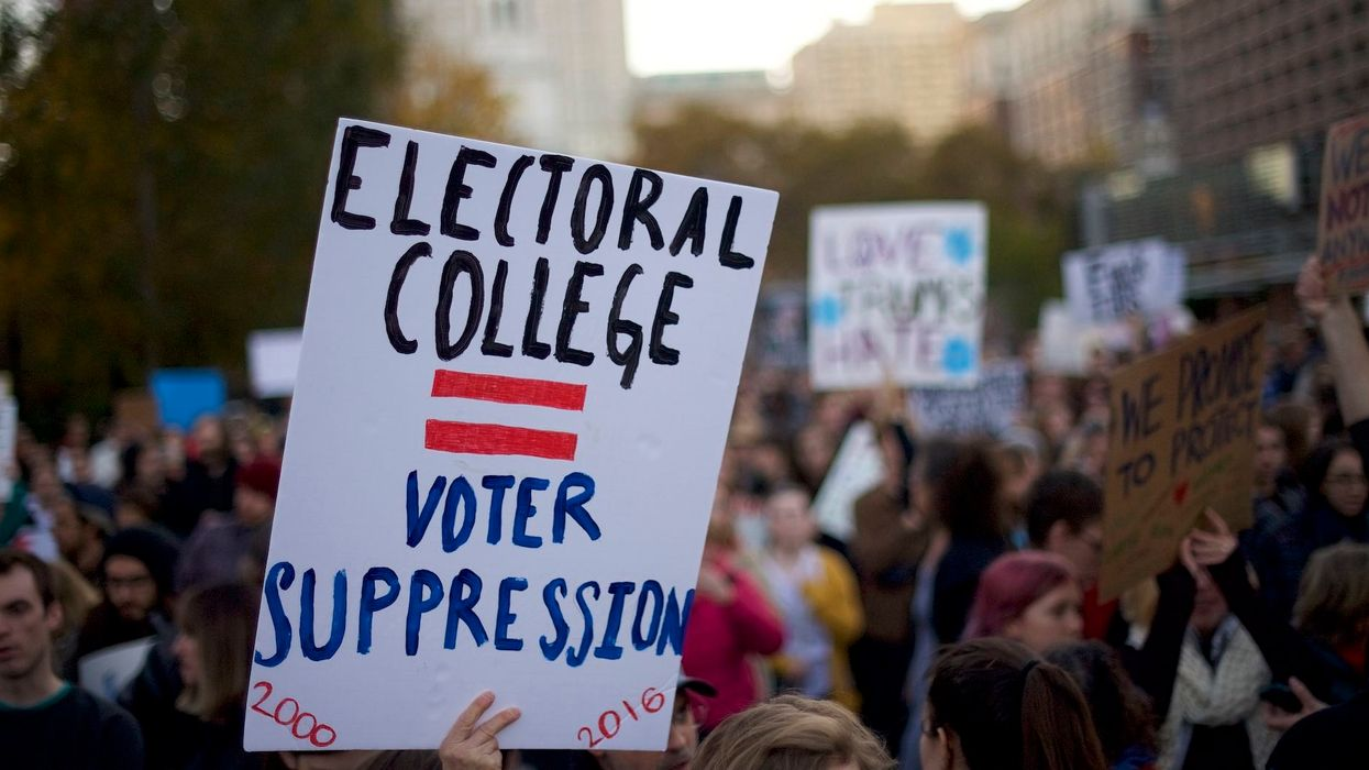 Democrats' attacks on the Electoral College seem to be working: Share of Americans who want it abolished surges