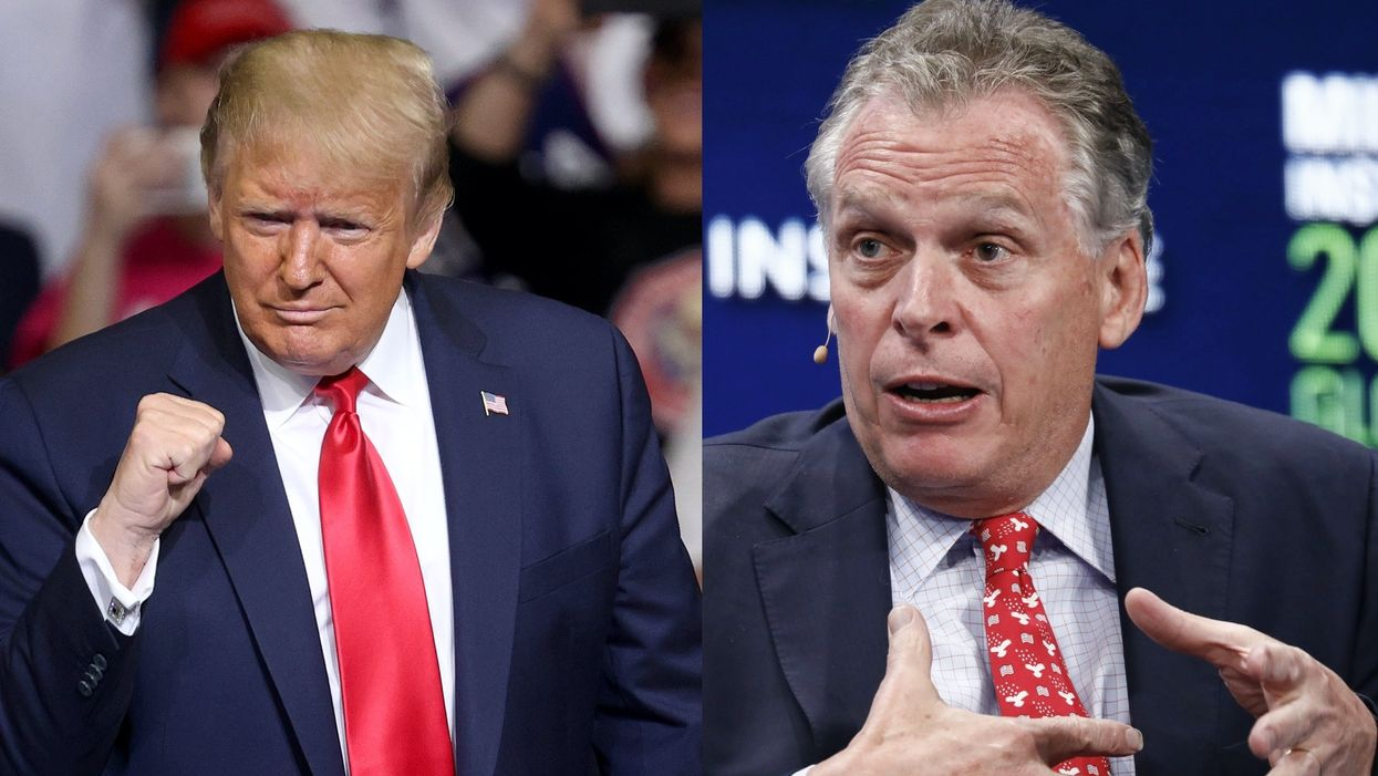 'Stop the madness': Virginia governor demands Trump rally be cancelled due pandemic rules — but the campaign says the show must go on