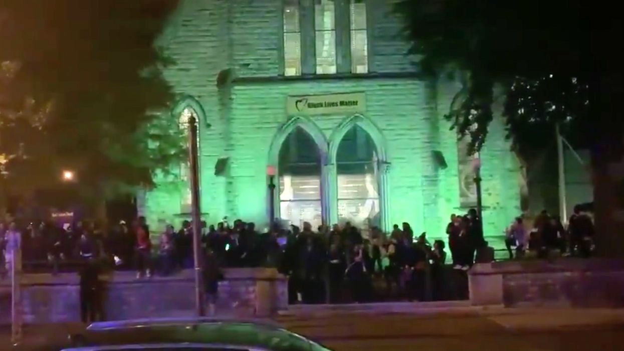 Louisville church offers safe haven to protesters from police after curfew begins; white people told to get 'the f*** out!'