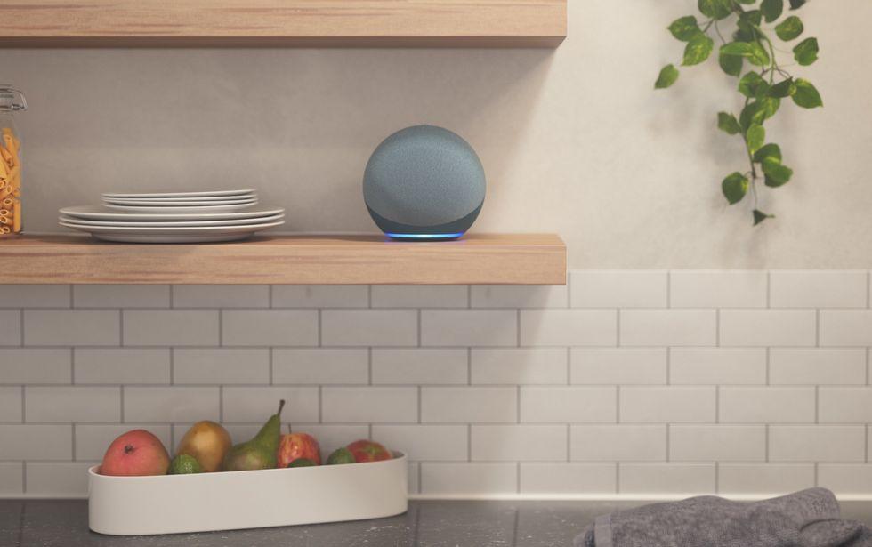 Imagine an Amazon Echo 2020 smart speaker