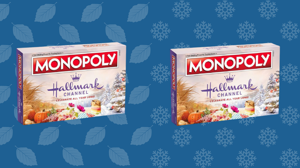 Ho Ho Hold The Phone, Hallmark Channel Has A Holiday Monopoly Game, And It's On Sale NOW