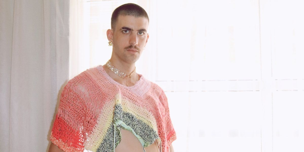 Nonbinary Crochet Lingerie As a Treat