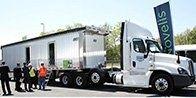Semi-truck supplying Aluminum