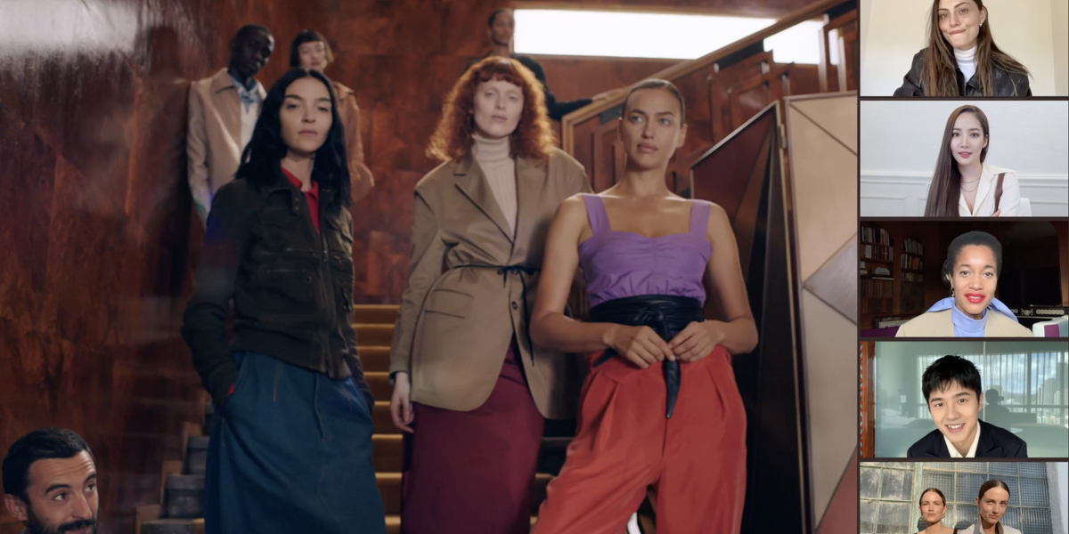 Why Can't All Zooms Look Like Tod's Spring 2021 Show?