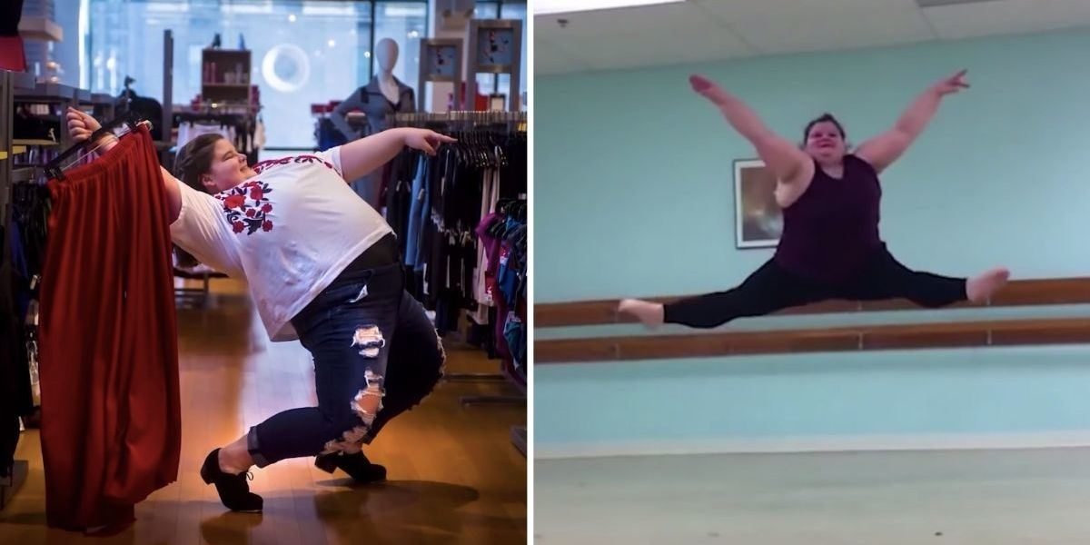 Teen ballerina boldly and beautifully challenges 'dancer body' stereotypes​