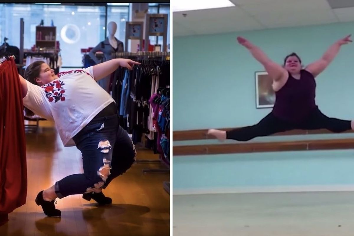 Teen ballerina boldly and beautifully challenges 'dancer body' stereotypes