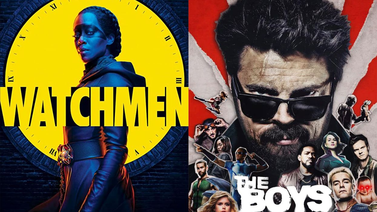 How 'Watchmen' and 'The Boys' Deconstruct American Fascism