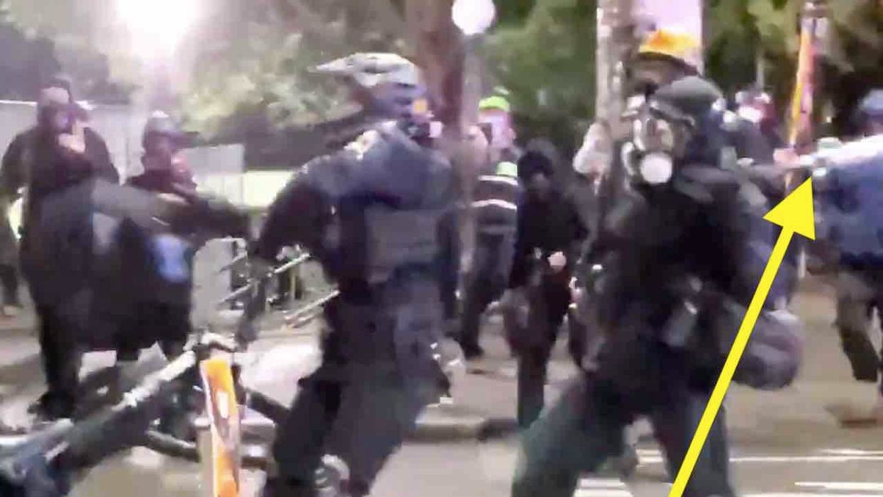 That rioter who bashed Seattle cop in back of head with bat? He allegedly bragged of being 'proud' of attack, wanted to 'slit every SPD throat.'