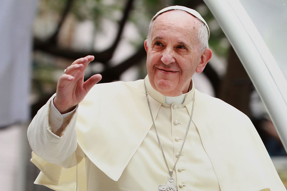 Pope Francis Voices Support For Same-Sex Civil Union Laws