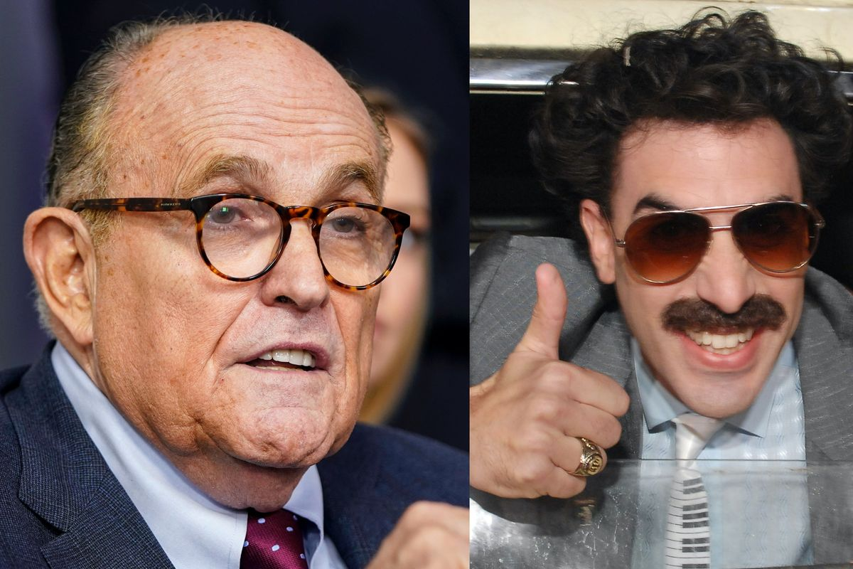 Rudy Giuliani says video from 'Borat' movie is an attempt to smear him over Hunter Biden laptop; promises more releases