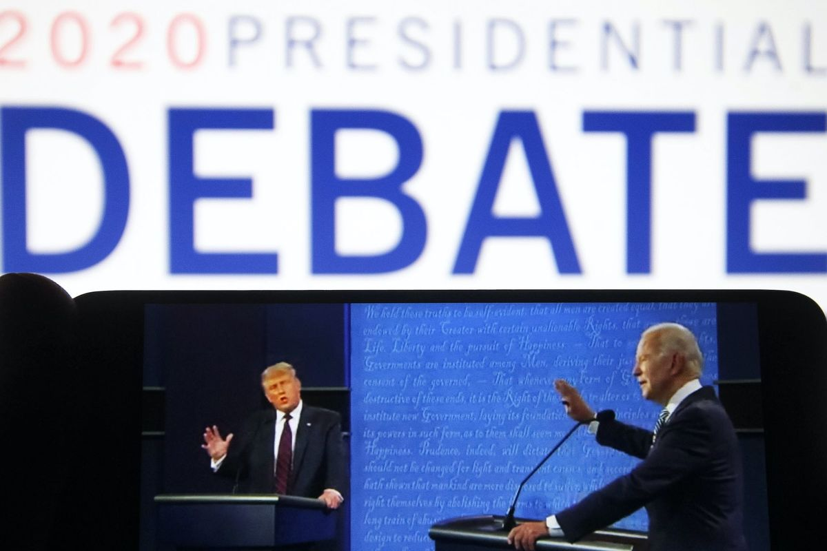LIVE: Watch President Trump and Joe Biden go toe-to-toe in the final debate — and follow the Blaze team's live chat keeping an eye on every angle