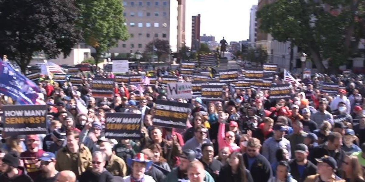 Steven Crowder Demands Michigan Governor Whitmer Release the Death Count