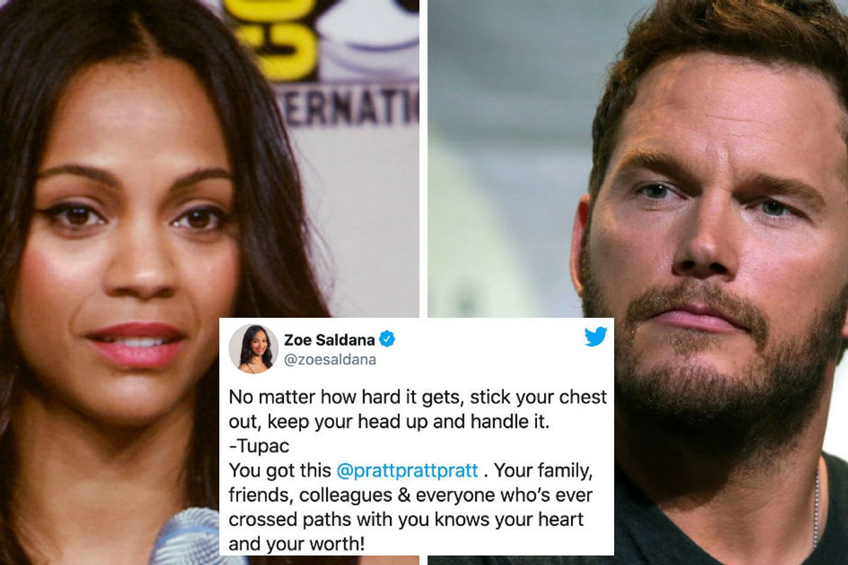 Chris Pratt's Avengers co-stars are coming to his defense after attacks on his religion
