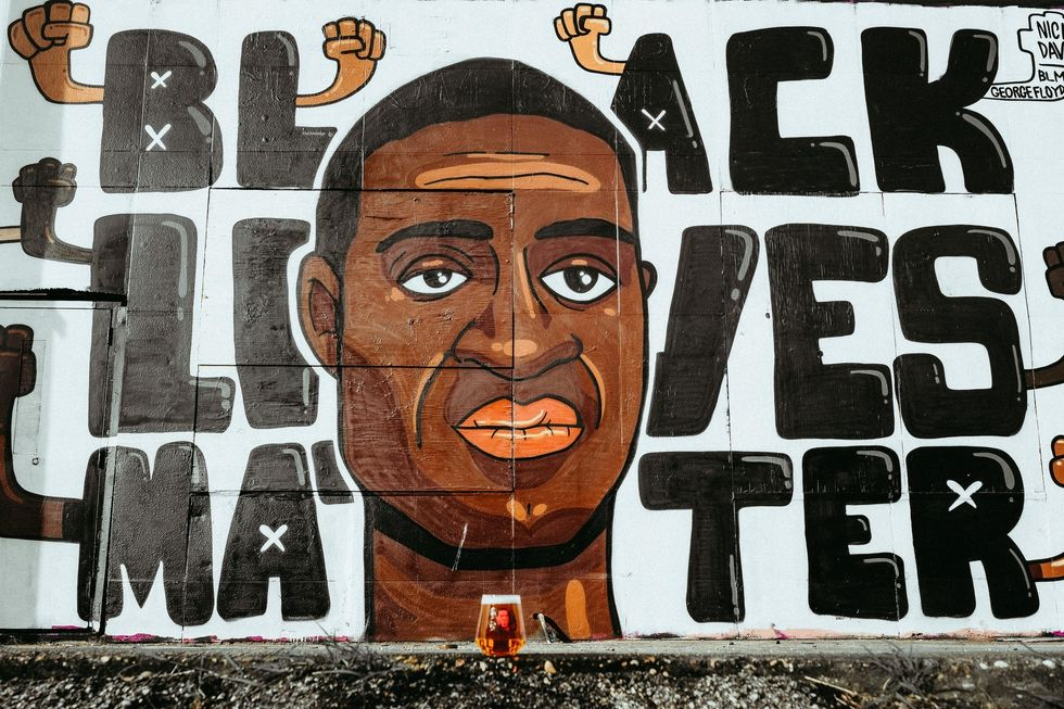 Rejection Of Black Lives Matter Mural By Phoenix City Council Doesn't Stop Gizette Knight