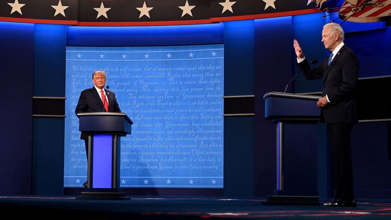 Trump and Biden Spar Over Climate Crisis at the End of Final Debate
