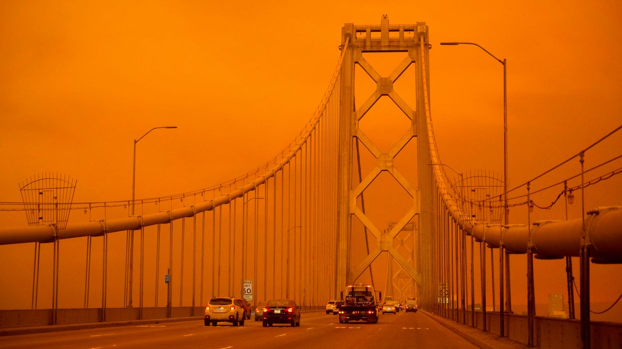 Why the orange skies over San Francisco felt like the set of a science fiction film.