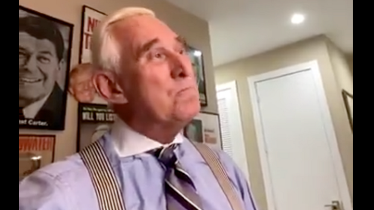 Roger Stone Dragged For Getting Tricked Into Wishing Biden Good Luck At The Final Presidential Debate