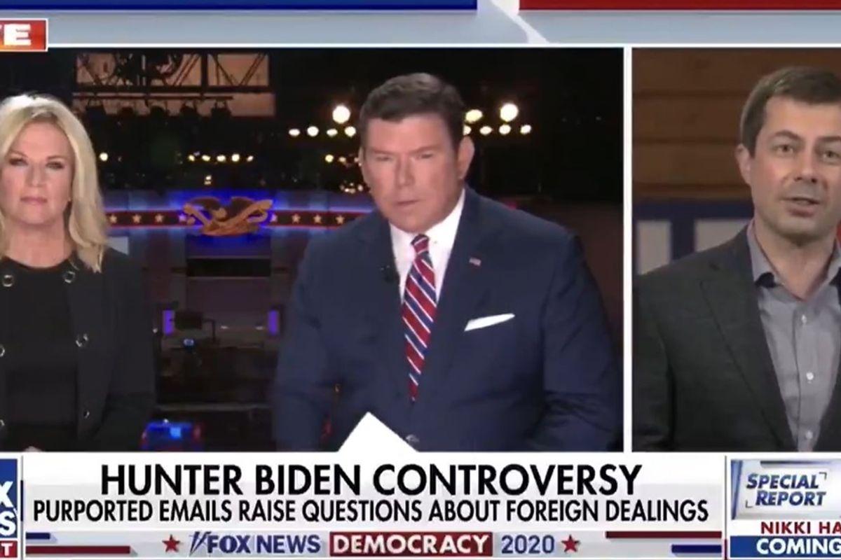 Pete Buttigieg continues his Fox News massacre by deftly shutting down a Hunter Biden smear