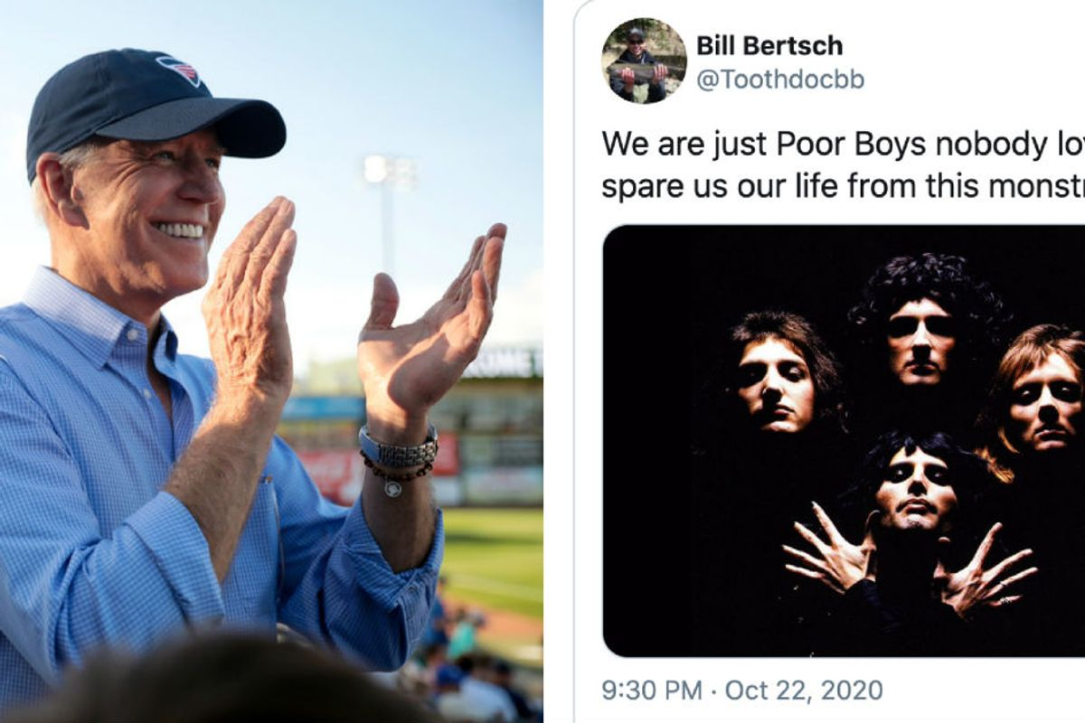 Biden accidentally called the racist Proud Boys 'poor boys' and people responded perfectly