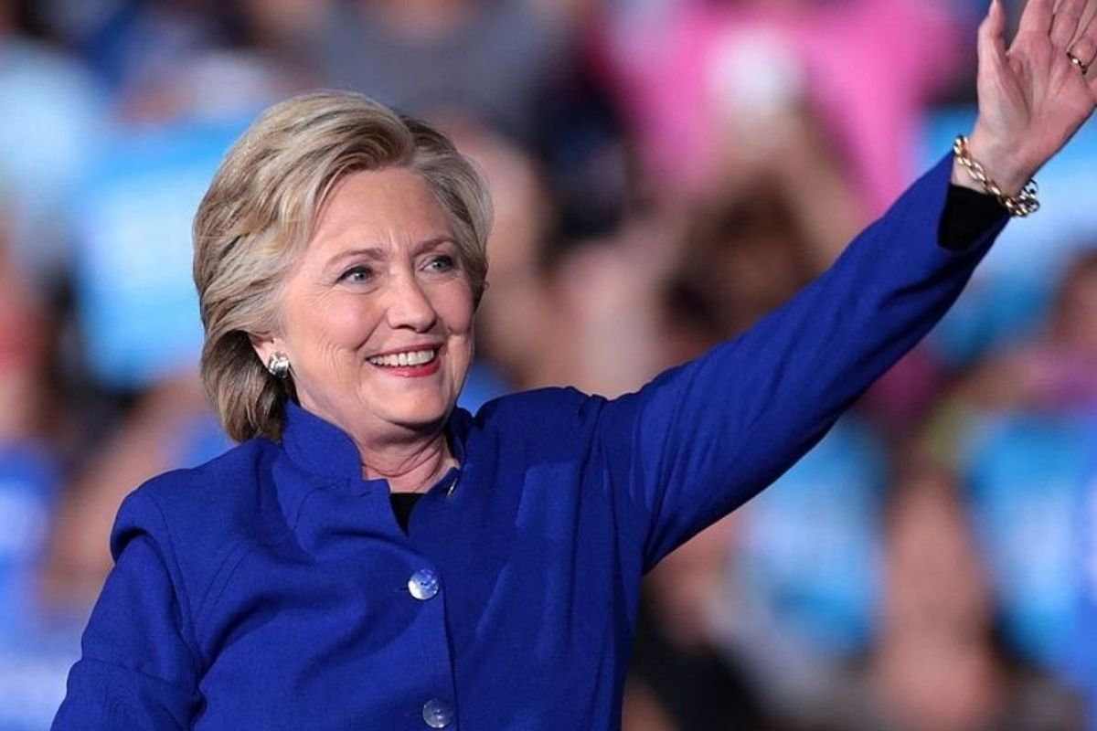 We're 11 days out from the election. So, let's talk about Hillary Clinton. No, seriously.