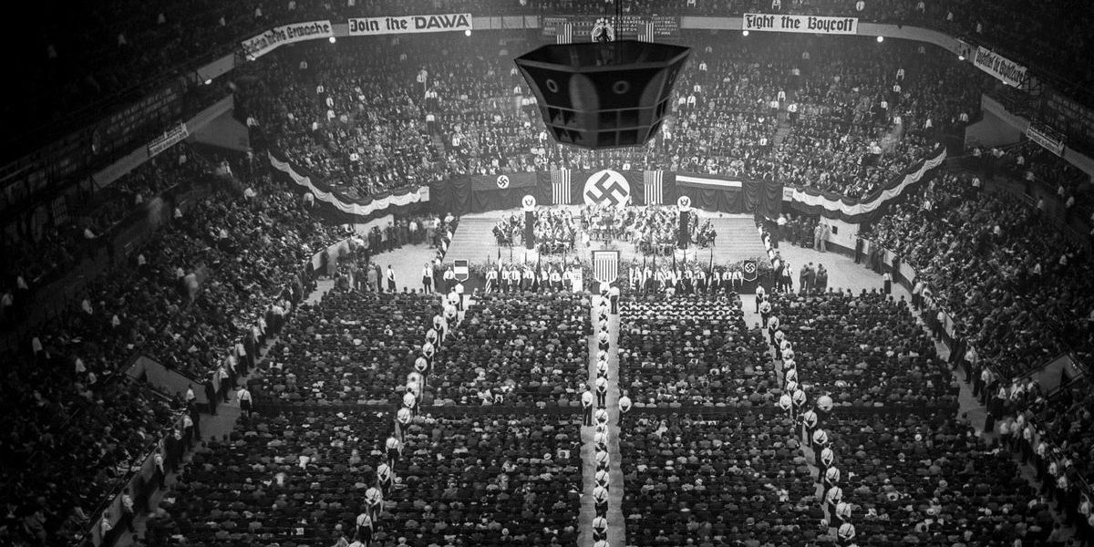 Thousands of Nazis held big rallies in America less than 100 years ago