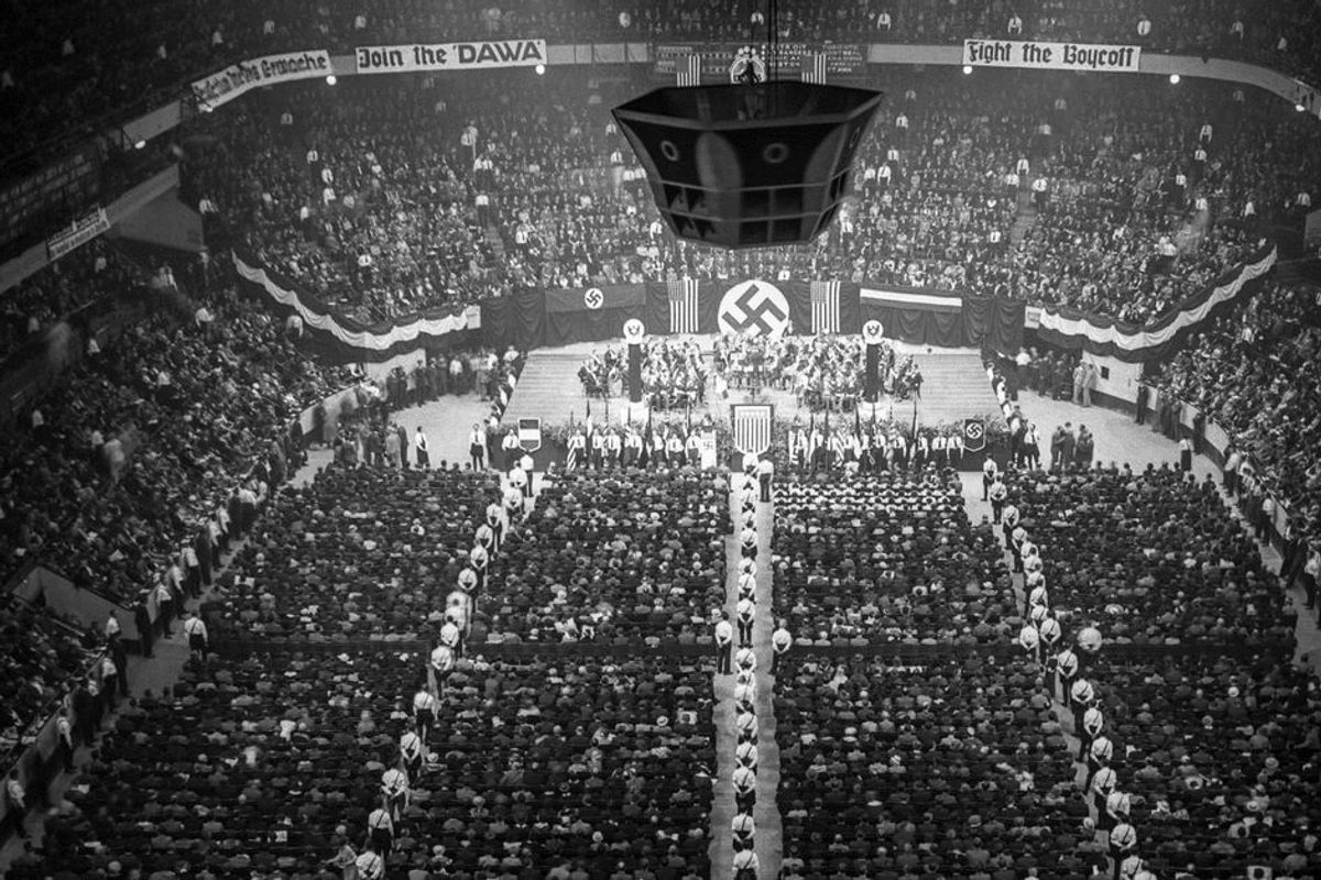America of the 1930s saw thousands of people become Nazi