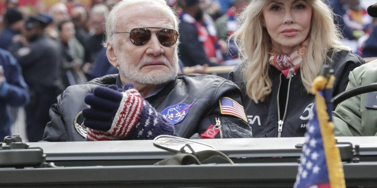 Buzz Aldrin shuns fellow astronaut Mark Kelly, will endorse Arizona Republican Martha McSally