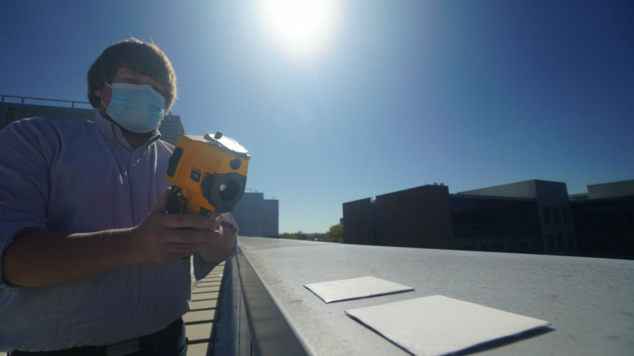 This White Paint Could Reduce the Need for Air Conditioning