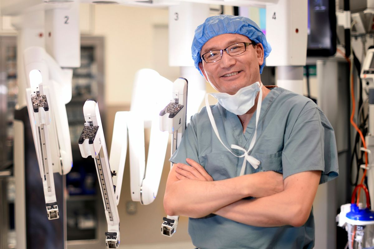 Houston cardiac surgeon outpaces much of the country in game-changing robotics
