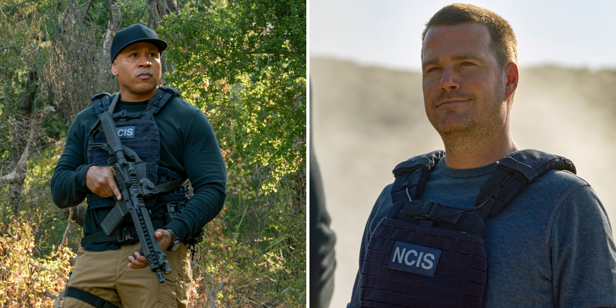 Special Agent Sam Hanna and Special Agent G. Callen.