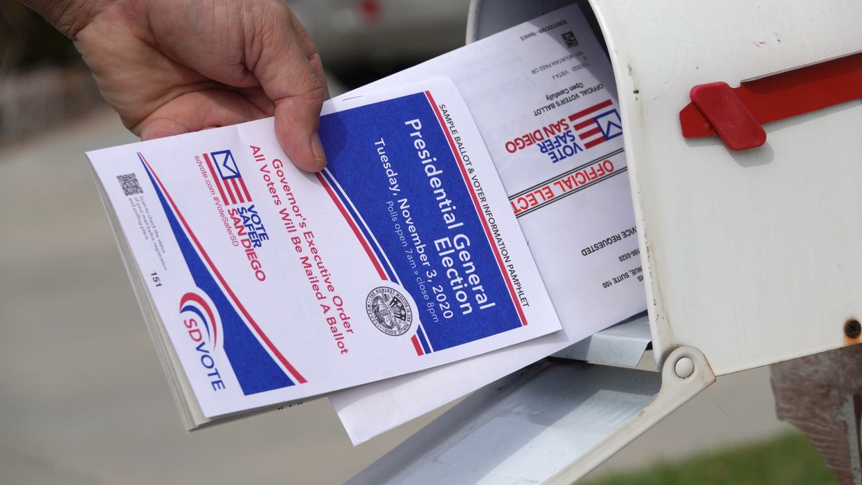 mail-in ballot presidential general election