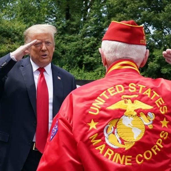 Majority of veterans support President Trump, according to a new poll