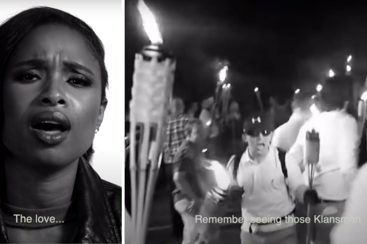 Jennifer Hudson singing Joe Biden's own words in 'THE LOVE' proves incredibly powerful