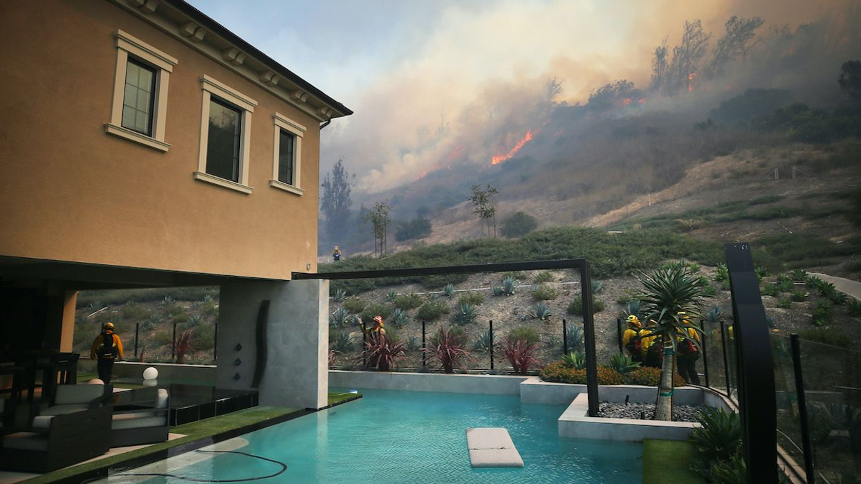 New California Fires Force More Than 90,000 to Evacuate