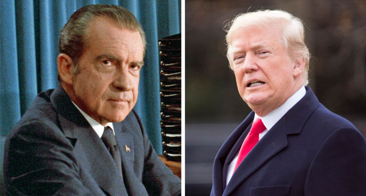 Trump bans staff from mentioning Richard Nixon's resignation in his presence: report