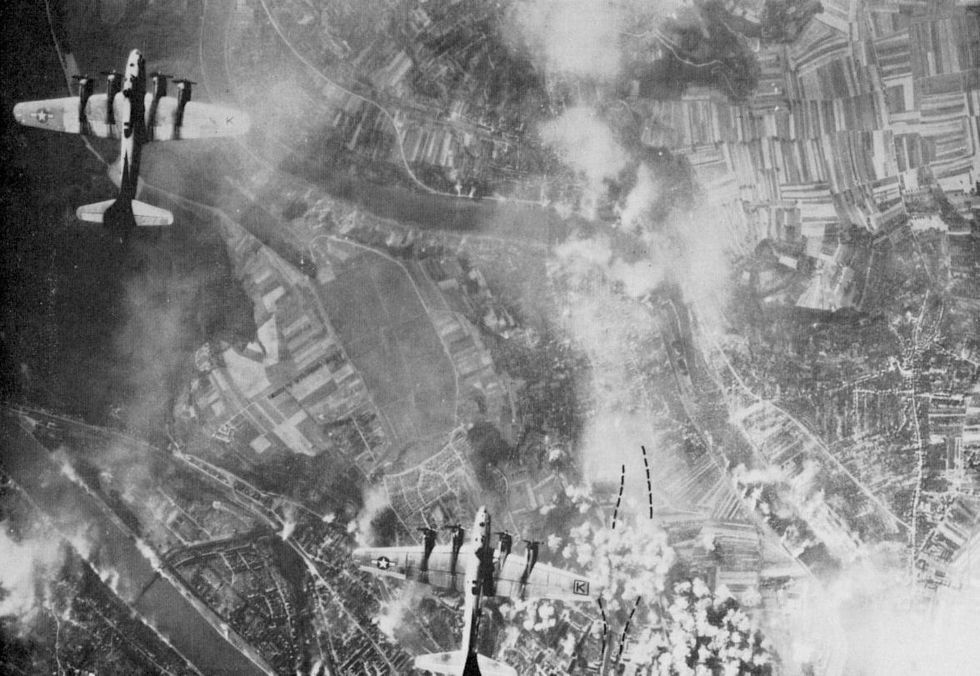 u200bAir raid on Koblenz on 19 September 1944 by the 447th Bombardment Group of the US Air Force.
