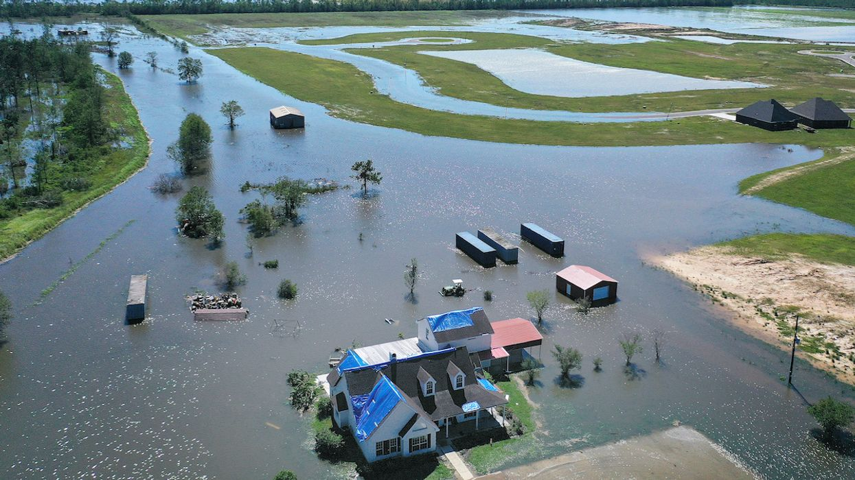 Hurricane Delta Floods Parts of Louisiana Still Recovering From August's Laura