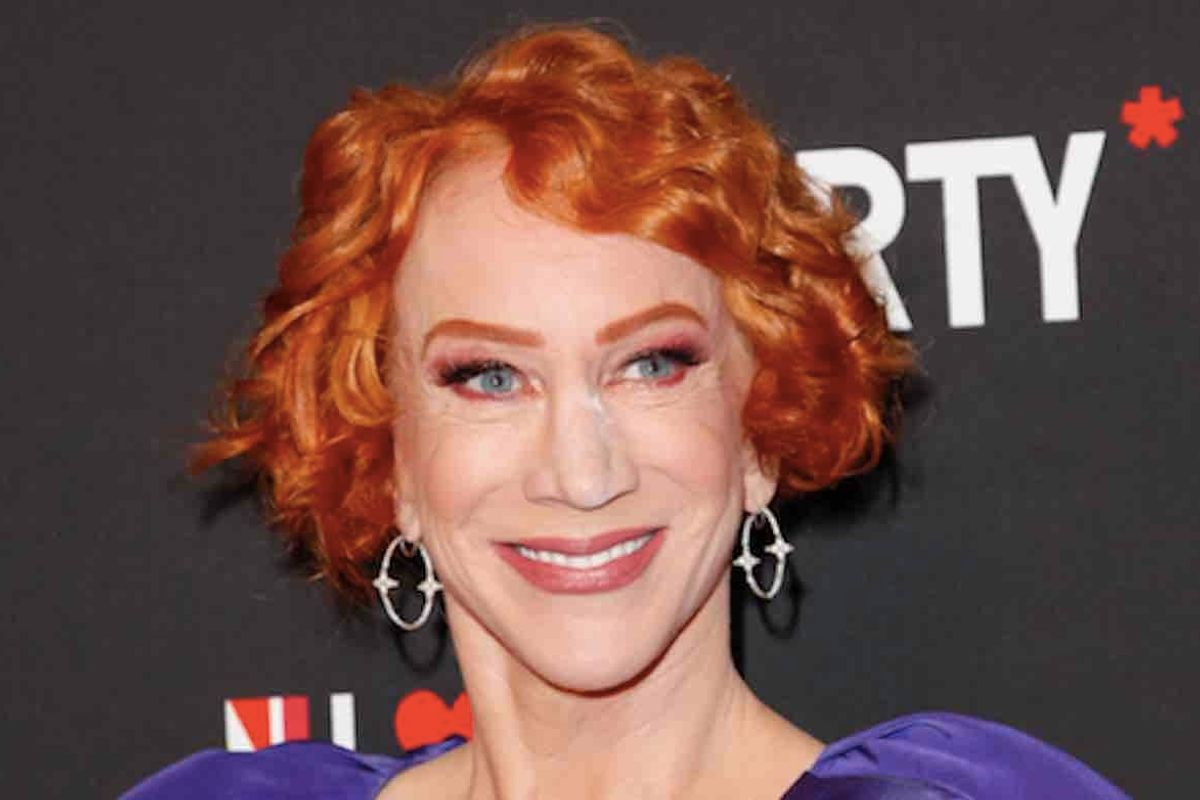 Kathy Griffin wanted to see President Trump 'croak' in middle of rally — then settled for 'coma'