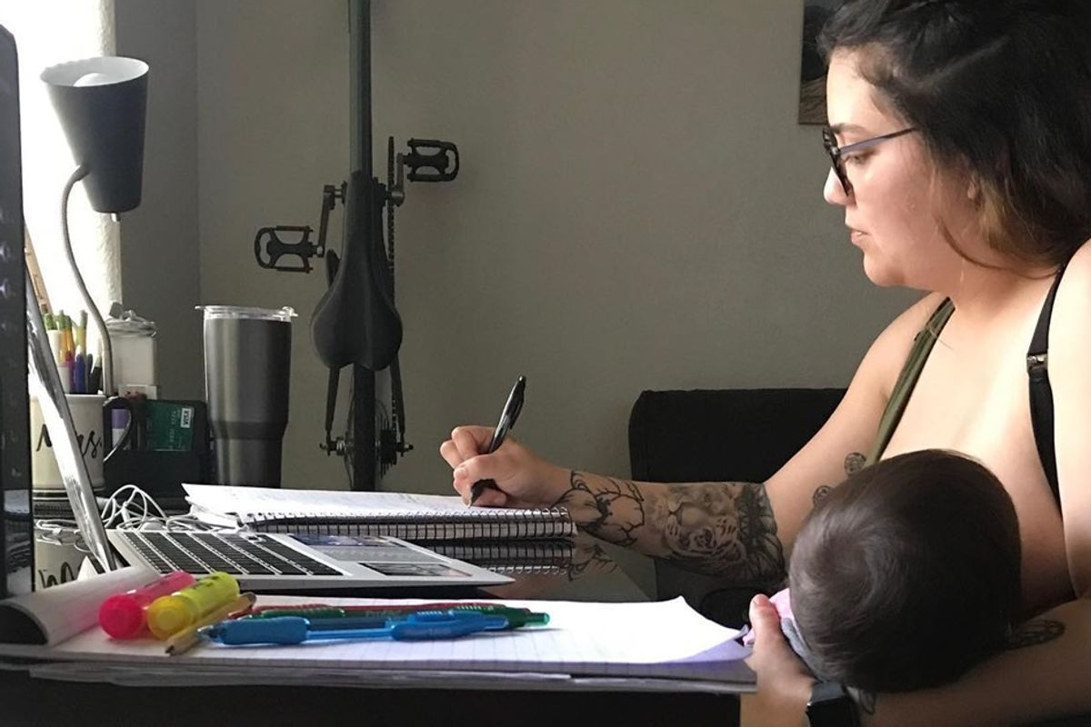 Breastfeeding mom fights back after professor 'humiliated' her in front of entire class