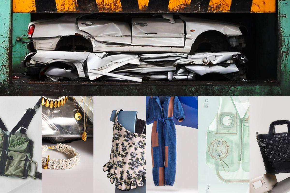Richard Quinn and Public School Turned Car Waste Into High Fashion