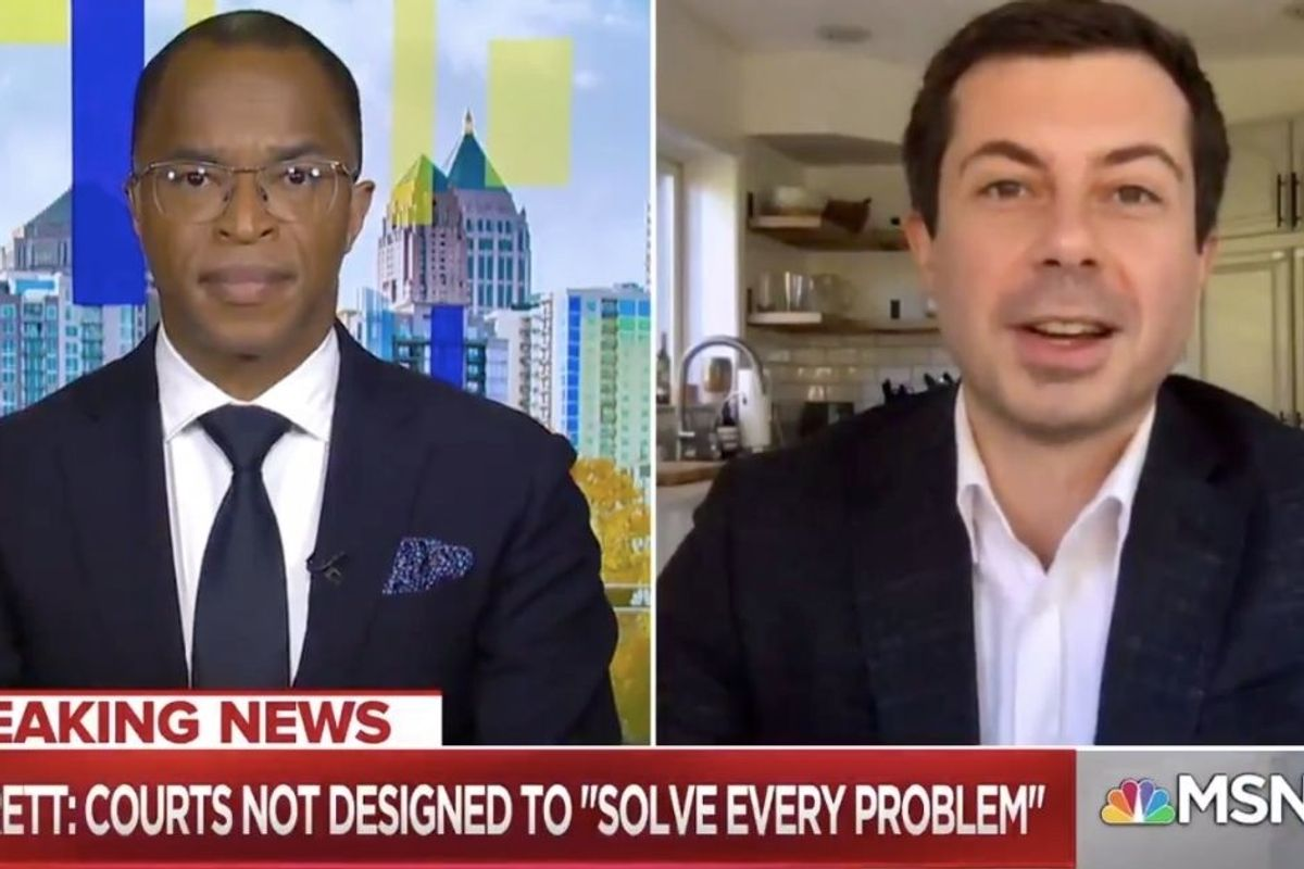 Pete Buttigieg brilliantly explains the problems with Constitutional 'originalism'