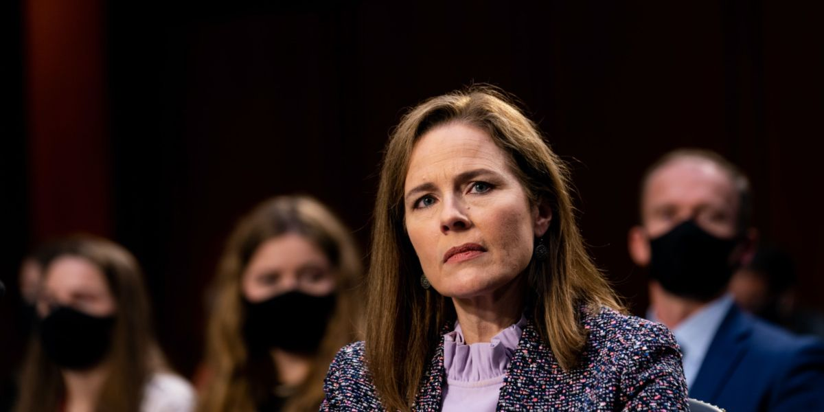 Amy Coney Barrett's Supreme Court Confirmation Would Be ...