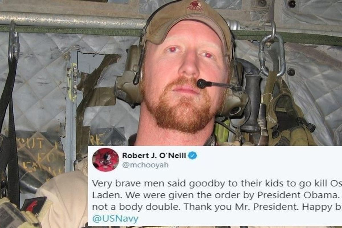 Trump claimed that Osama Bin Laden is still alive. The man who shot him begs to differ.
