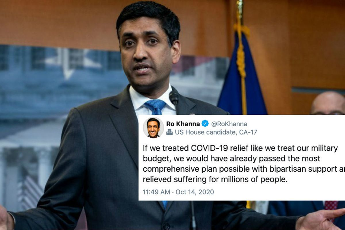 A leading liberal voice in Congress says it's time to make a Covid relief deal with Trump